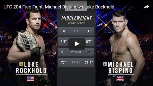 Michael Bisping vs Luke Rockhold Full Fight Video