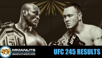 UFC 245 Results