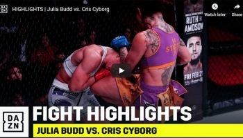 Cris Cyborg vs Julia Budd